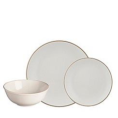 Mason Cash - Cream stoneware 'Classic Collection' 12 piece dinnerware set