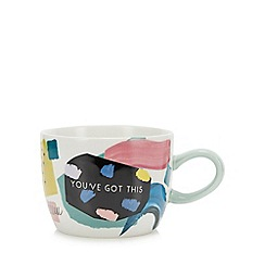 Debenhams - Multicoloured 'You've Got This' Mug