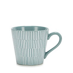 Debenhams - Light Blue Stripe Mug