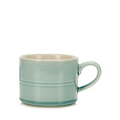 Debenhams - Light Turquoise Large Glazed Mug