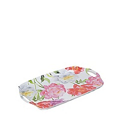 Home Collection - Multi-coloured floral tray