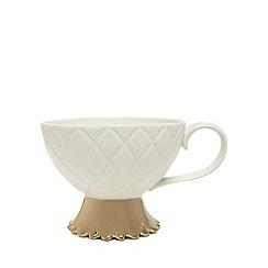 At home with Ashley Thomas - White and gold mug