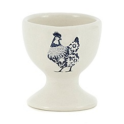 Home Collection - Blue 'Country Kitchen' egg cup