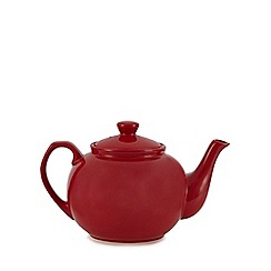 Home Collection - Red 'Country Kitchen' teapot