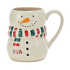 Home Collection - Multicoloured snowman mug