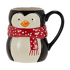 Home Collection - Multicoloured penguin mug