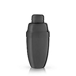 Viski - Black stainless steel 'Warren' heavyweight cocktail shaker