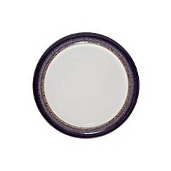 Denby - Glazed 'Heather' rimmed small plate
