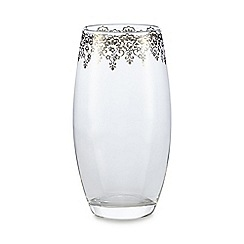 Star by Julien Macdonald - Lace foil trim tumbler glass