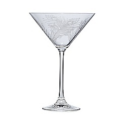 Home Collection - Feather martini glass