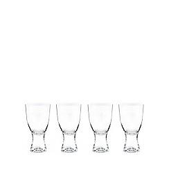 J by Jasper Conran - Set of four crystal 'Edbury' wine glasses