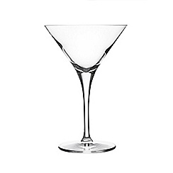Rayware - Set of 2 crystal 'Ravenhead' martini cocktail glasses