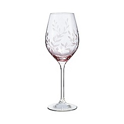 Home Collection - Set of 6 pink wine glasses