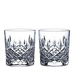 Royal Doulton - Set of 2 lead crystal 'Highclere' tumblers