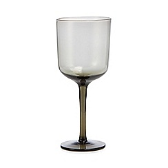 Home Collection - Dark grey 'Nordic' wine glass