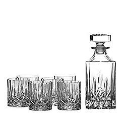 Royal Doulton - 'Seasons' 6 tumblers and decanter set