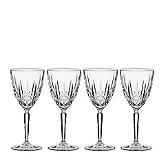 Marquis by Waterford - Set of 4 'Sparkle' wine glasses