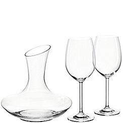 Leonardo - Crystal decanter and wine glass set