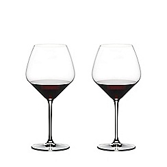 Riedel - Set of 2 crystal 'Extreme' Cabernet and Merlot wine glasses