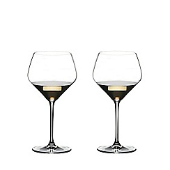Riedel - Set of 2 crystal 'Extreme' Oaked Chardonnay wine glasses