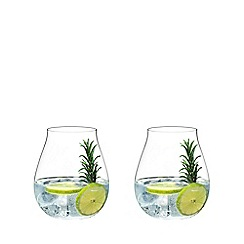 Riedel - Set of 4 crystal 'O' gin glasses