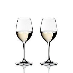 Riedel - Set of 2 crystal 'Vinum' Sauvignon Blanc wine glasses
