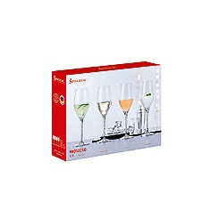 Spiegelau - Set of 4 Crystal Prosecco Glasses