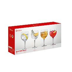 Spiegelau - Set of 4 Crystal Gin and Tonic Glasses
