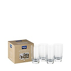 Denby - Set of 4 'Elements' large tumblers