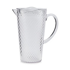 Home Collection - Clear plastic jug
