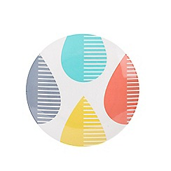 Beau & Elliot - Raindrops melamine plate