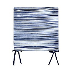 Home Collection - Navy striped seat pad