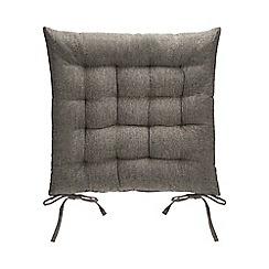 Debenhams - Grey Seat Pad