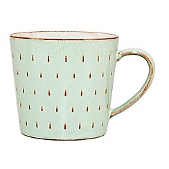 Denby - Pale green 'Orchard' cascade mug