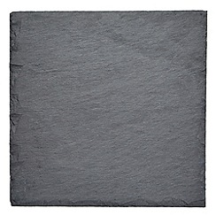 RJR.John Rocha - Pack of 2 slate rough edge placemats