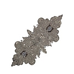 Star by Julien Macdonald - Silver beaded table runner
