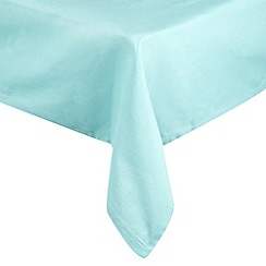 Home Collection Basics - Blue large rectangular tablecloth