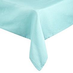 Home Collection Basics - Blue medium rectangular tablecloth
