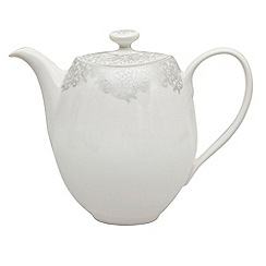 Denby - 'Monsoon Filigree Silver' teapot