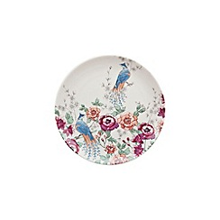 Denby - Cream 'Monsoon Kyoto' floral print salad plate