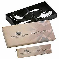 Arthur Price - Vintage stainless steel cream ladle and jam spoon