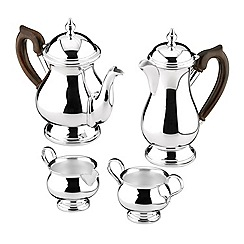 Arthur Price - Silver plated home tableware luxury 4 piece Tea Set tea pot coffee pot sugar bowl and cream jug