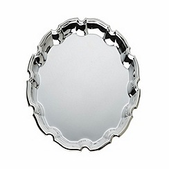 Arthur Price - Silver plated home tableware 10 inch 'Chippendale' Salver
