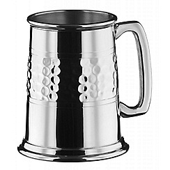 Arthur Price - Half Hammered Pewter Tankard - 1 Pint