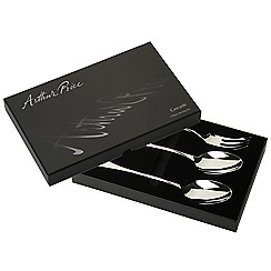 Arthur Price - Signature Cascade 18/10 Stainless Steel 3 piece serving set