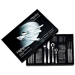 Arthur Price - 'Highgrove' 18/10 stainless steel 32 piece 8 person boxed cutlery set for luxury home dining