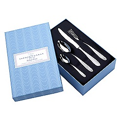 Arthur Price - Sophie Conran Dune 18/10 Stainless Steel 24 piece 6 person boxed cutlery set