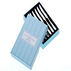 Arthur Price - Sophie Conran Rivelin 18/10 stainless steel box 6 tea knives
