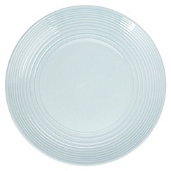 Gordon Ramsay By Royal Doulton - Blue 'Maze' dinner plate