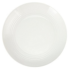 Gordon Ramsay By Royal Doulton - White 'Maze' salad plate